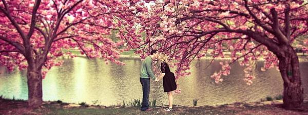 любовь весна
