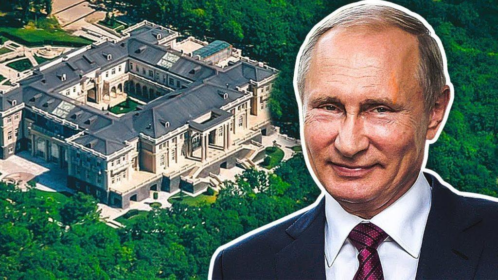 Владимир Путин и дворец какого-то бизнесмена )